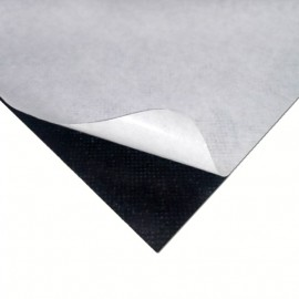 Doublesided adhesive tape on a fabric basis