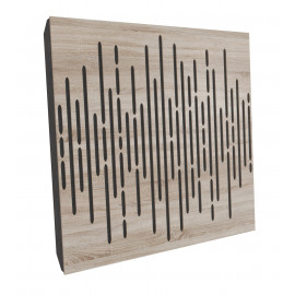 Sound Absorption-Diffuse Acoustic Panel  «Wave»