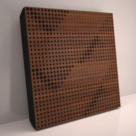 Sound Absorption-Diffuse Acoustic Panel «Wilds»